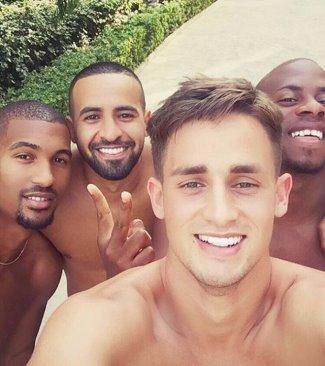 Adnan Januzaj hot with pals
