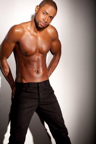 Jay Ellis shirtless