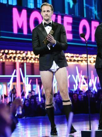 alexander skarsgard Underwear To MTV Movie Awards