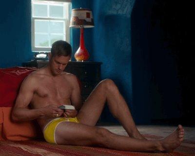 alexander skarsgard briefs yellow underwear
