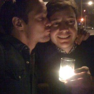 alexander skarsgard gay kiss Michael McMillian
