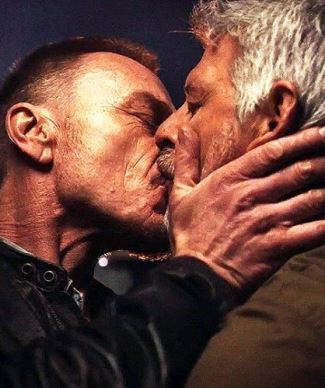 ben daniels gay kiss christopher cousins