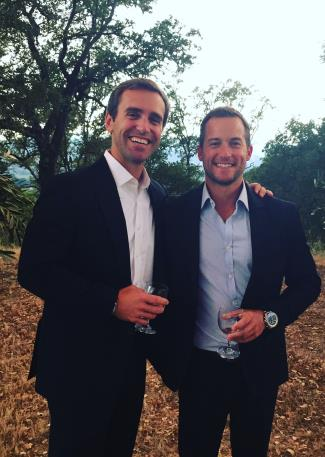 gay tennis players Brian Vahaly husband bill jones