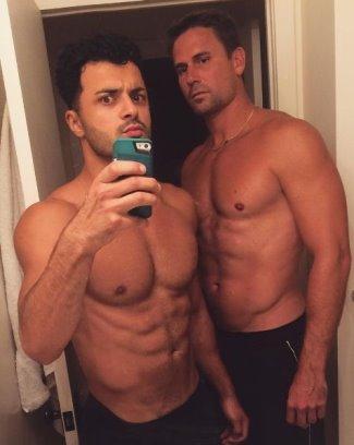jan-michael gambill boyfriend Malek Alqadi,