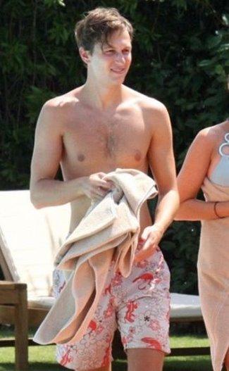 jared kushner shirtless chest hair2
