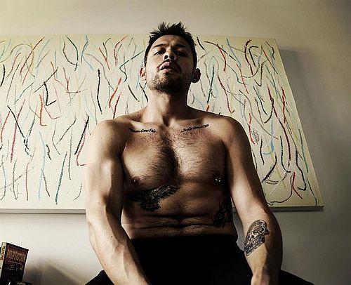 david castaneda shirtless
