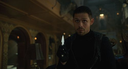 david castaneda umbrella academy diego knife fighter