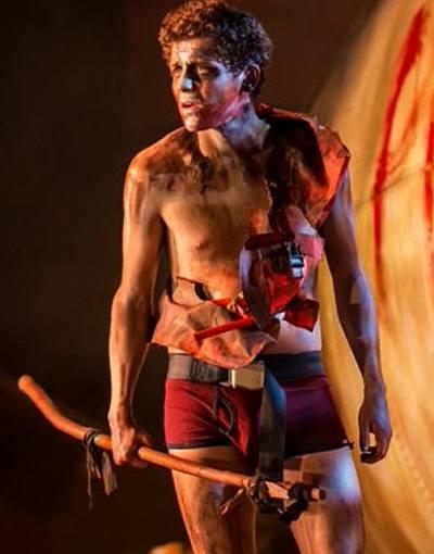 Dylan Llewellyn underwear boxer briefs shirtless