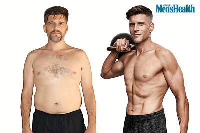 osher gunsberg before and after weight loss photos
