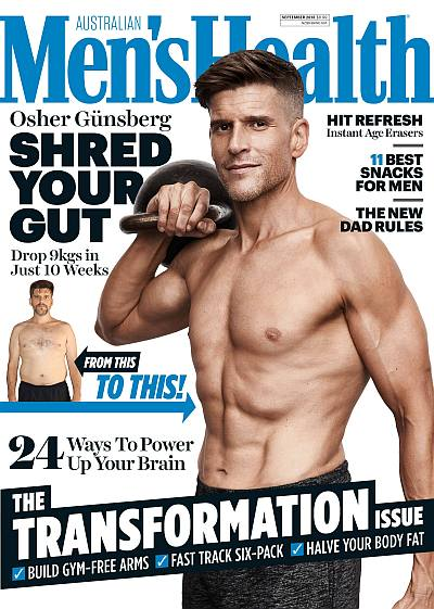 osher gunsberg shirtless weight loss