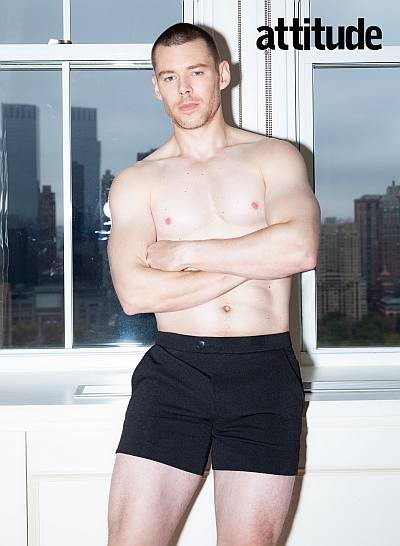 brian j smith shirtless sexy hot