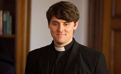 derry girls hot priest father peter campion