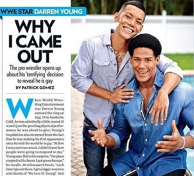 gay wrestlers list - darren young boyfriend nick villa