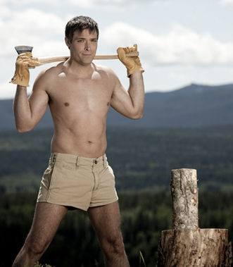 hot lumberjacks calendar
