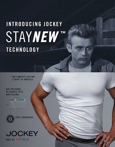 james dean underwear jockey staynew technology