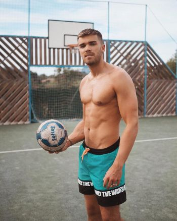 josh cushbert shirtless hot body beautiful
