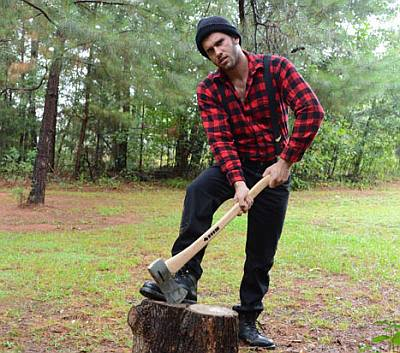 lumberjack hunk - JIMMY FANZ mendotcom male model