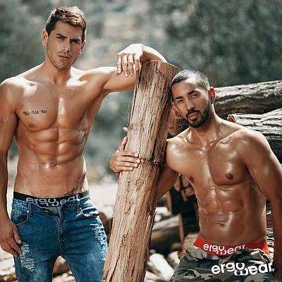 lumberjack hunk - ergo underwear models