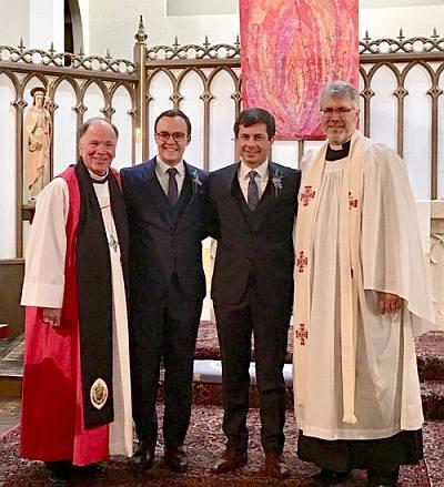 pete and chasten buttigieg wedding episcopal church