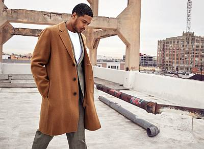 ray fisher coat photo by aaron smith