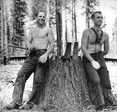 real hot lumberjack hunks