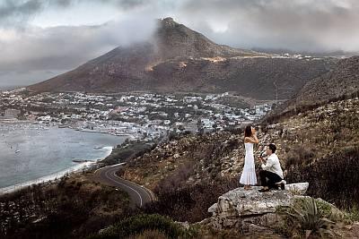 rich ting girlfriend proposal