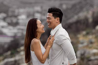 rich ting wife proposal