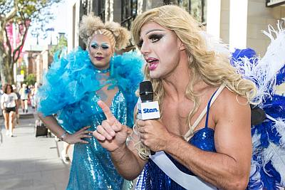 straight drag queens - beau ryan mardi gras