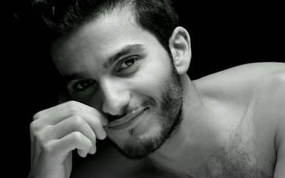 Mehdi Dehbi shirtless