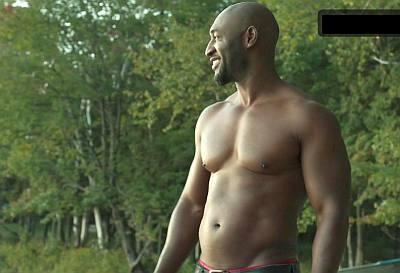 adrian holmes shirtless