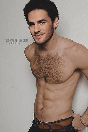 colin o donoghue shirtless chest hair real or not