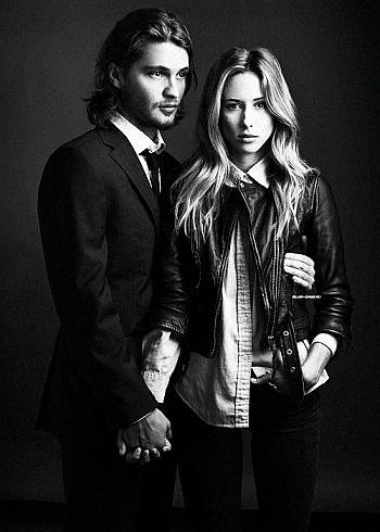 luke grimes girlfriend Gillian Zinser