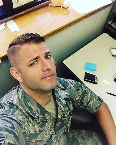 brock thompson hot guys in military uniform