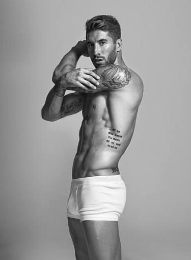 sergio ramos model underwear