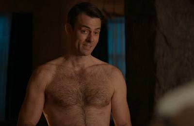 Gisli Gardarsson shirtless ragnarok hunk