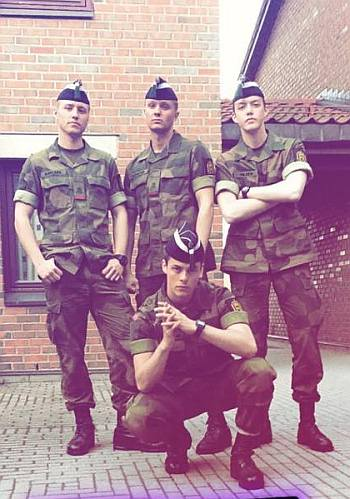 Herman Tømmeraas hot in military uniform - skam