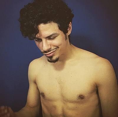 Jonny Beauchamp shirtless