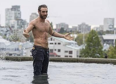 joshua sasse shirtless xavier