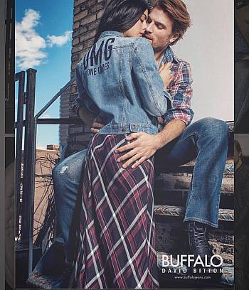 luke gulbranson model buffalo jeans