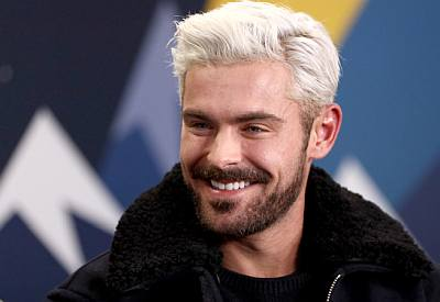 blond men are hot hairstyle - zac efron