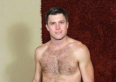 colin jost shirtless fake photo