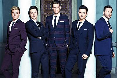 collabro sexy in suit and tie