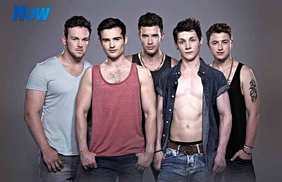 collabro shirtless photos