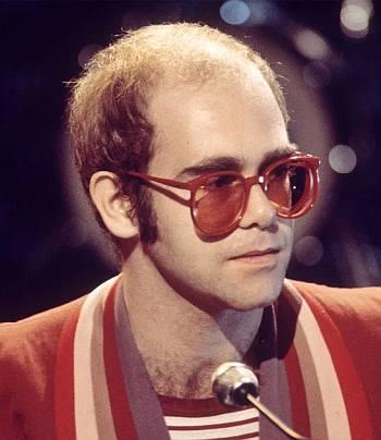 elton john bald - hair transplant