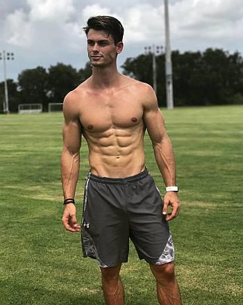 garrett miller body muscles