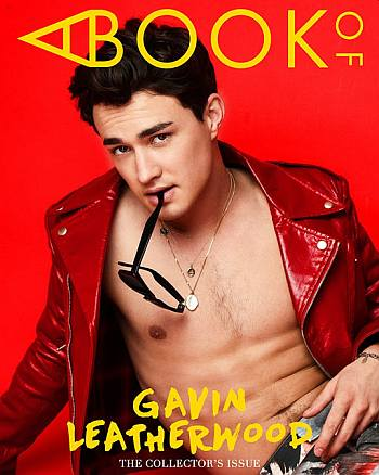 gavin leatherwood shirtless body - open jacket