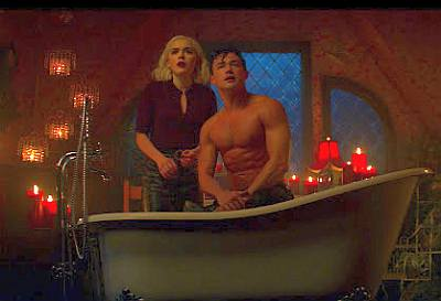 gavin leatherwood shirtless sabrina
