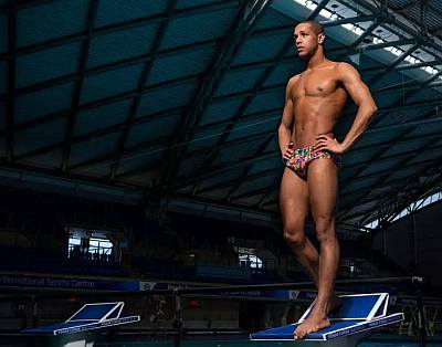 gay swimmers list michael gunning jamaica