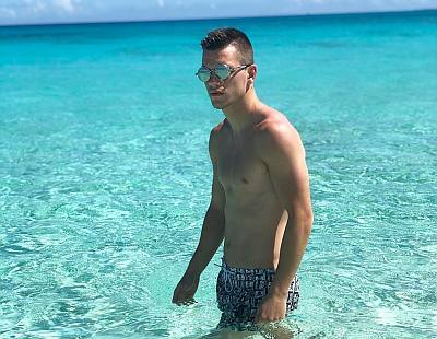 giovani lo celso shirtless body