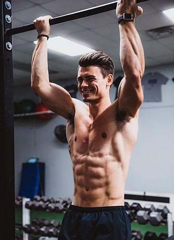 hot guys with abs workout garrett miller